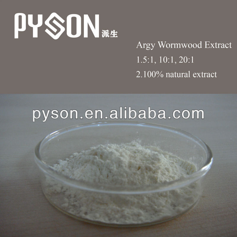 Herbal plant Argy Wormwood Leaf Extract 10:1, 20:1