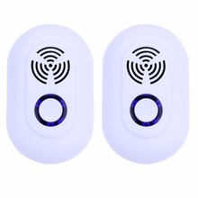 2018 New Electronic Ultrasonic Mosquito Repellent Cockroach Mouse Insect Repeller 2 Packs
