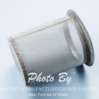 High quality 304 stainless steel filter mesh tube