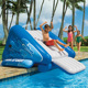 Children SuperSlide Big Inflatable Inground Swimming Pool Water Slide