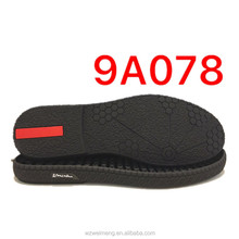 EXW price men shoe sole rubber shoe sole raw material