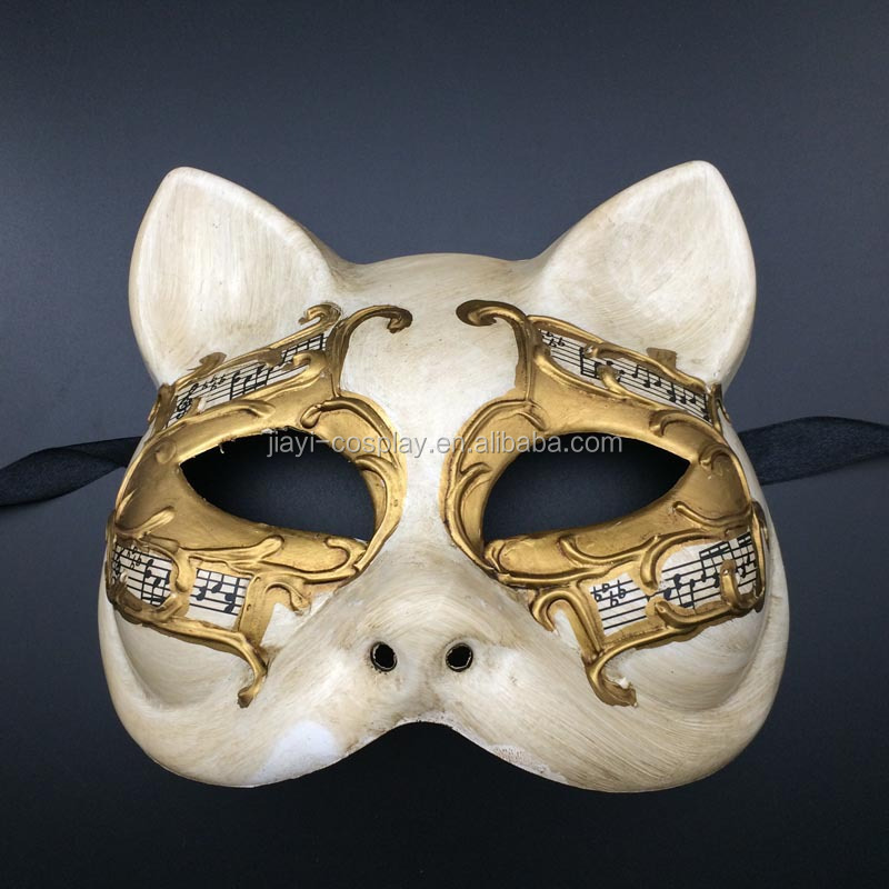 High Quality Masquerade Carnival cat mask venetian mask