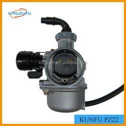 New model PZ22 carburetor for 125cc motorcycle