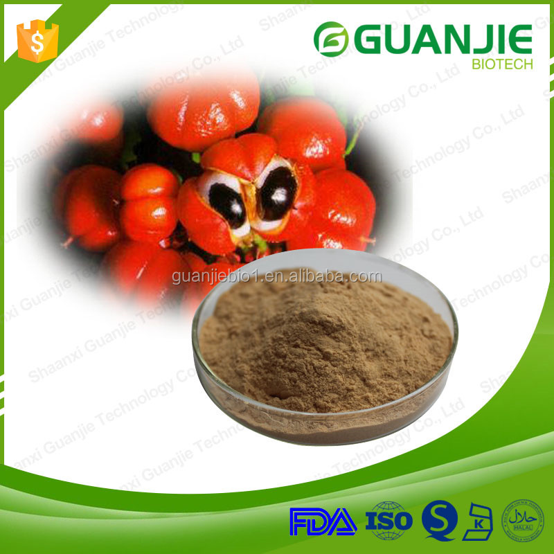 2016 Hot Sale Lose Weight 100% Natural Guarana Extract Powder
