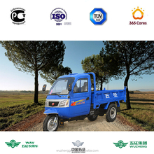 WAW 3 wheel enclosed motorcycle tricycle as well as tricycle cargo carrier