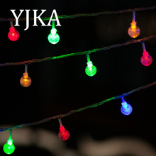 Christmas Decoration LED Bulbs Cover String Lights Battery Operated