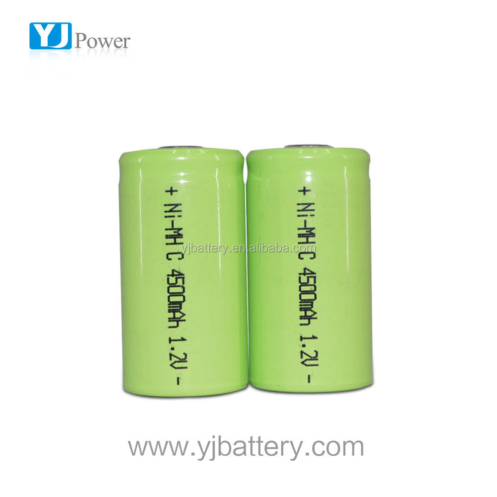 18650 nimh battery 1.2v 4500mah c nimh battery 2200mah 4.8v nimh battery with solder tab