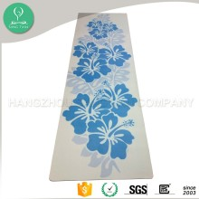 Machine washable printed natural rubber yoga mats factory sale folding yoga mat