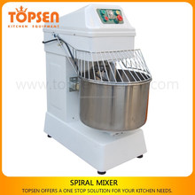 30L two speeds commercial 50kg spiral dough mixer with dough hook