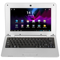 Wholesale uk Silver 10inch cheap mini laptops VIA 8880 notebook laptop computer