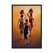 Classical Ethnic The Indian Woman Oil Painting