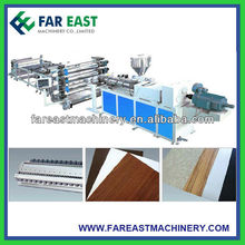PVC Plastic Foam Sheet Making Machine/Waterproof coil Extrusion Machine