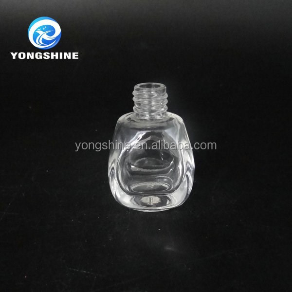 10ml car glass perfume diffuser bottle with screw lid
