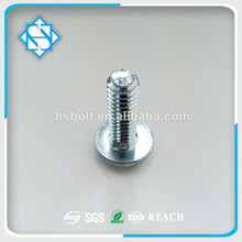 Hot Sale Quality Carbon Steel Zinc Galvanized Truss Head Phil-slot Machine Screw