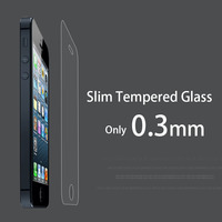 Tempered screen guard for iphone 5 5s mobile sticker for iphone 5/5S/5C