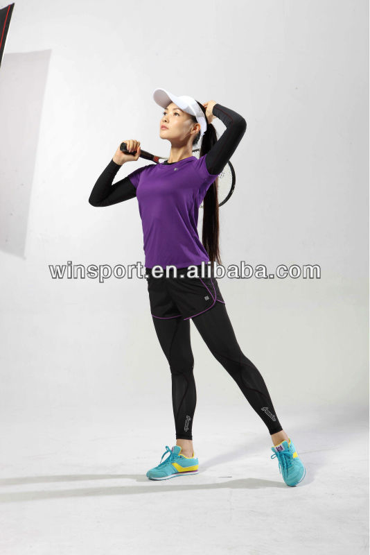 LADY'S FASHION SPORTS WEAR TENNIS SPORTS WEAR