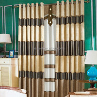 New model decorative polyester window curtain