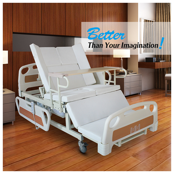 Hot sale powered electronic hospital patient bed