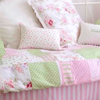 comfortable cotton crib bedding set baby 4 pieces