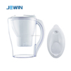 JEWIN brand portable 2.5L Water filter jug with manual counter