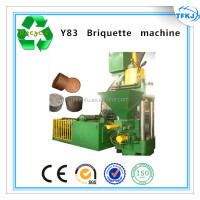 Y83-2500 cast iron briquette press metal turnings block moulding machine(High Quality)