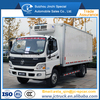 New Arrival 4WD refrigerator truck with meat rail on sale