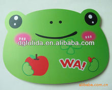 Green Frog Animal Cartoon Rubber Mousepad