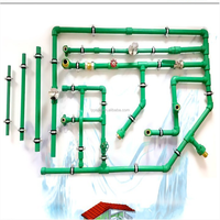 Plastic water guard systems PPR potable water pipe system