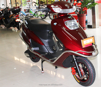 High quailty moped scooter,2 seat electric motorcycle,twin pedal motorcycle