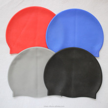 Professional Waterproof Silicone Swimming Cap Adult Unisex Silicone Swimming Cap