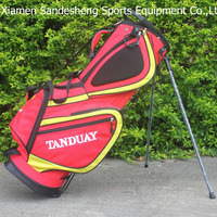 custom made golf stand bag attachment