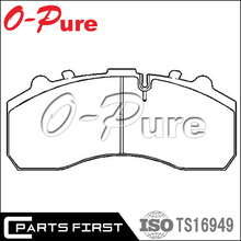 OEM:2992348 0024204920 GDB5067 High quality brake disc truck brake pad set manufactory For IVECO MERCEDES BENZ ACTROS