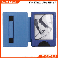 Folio PU leather Case Cover Stand Holder For Amazon Kindle Fire HD 6""
