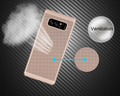 Laudtec Ultra Slim Mesh Heat Dissipation Anti-Scratch Hard Protective Case Cover for Samsung Galaxy Note 8