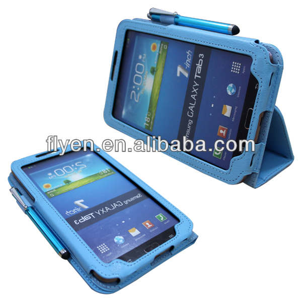 PU Leather Swivel Stand Case Cover for Samsung Galaxy Tab 3 7.0 7inch T210 P3200