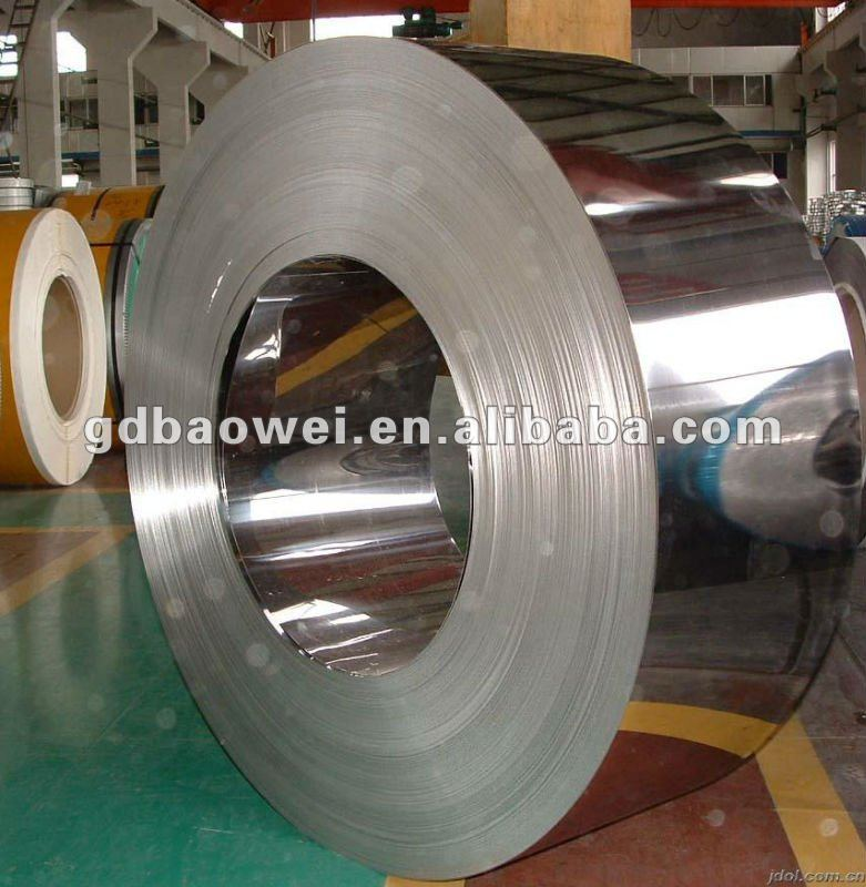 stainless steel back water resistant coil and sheet