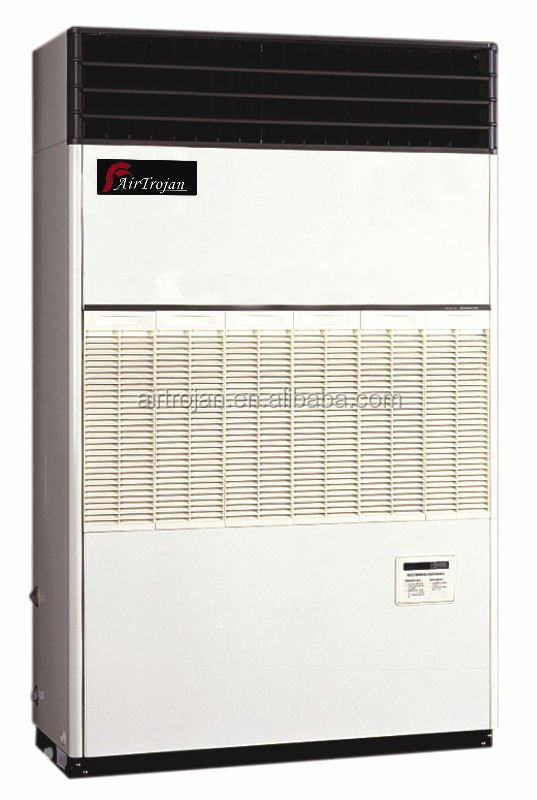 Air cooled floor standing direct blow type cooling only air conditioner , capacity 42.2kW