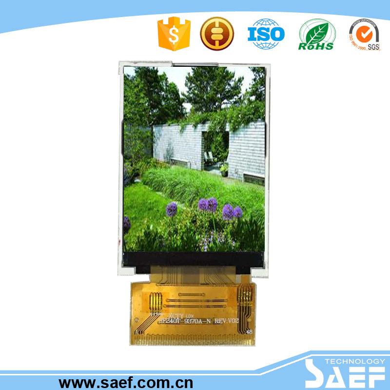 2.4 inch 240*320 with Resistive Touch panel Normal TN TYPE TFT lcd display with interface MPU 8-Bit
