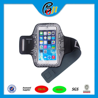 Hot selling Neoprene Sport Armband case portable smartphone armband case
