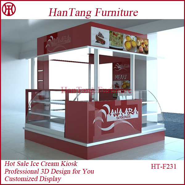 List manufacturers of kiosk food shopping mall buy kiosk for Indoor food kiosk design