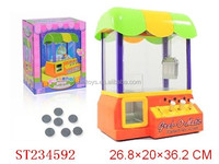2014 NEW CANDY GRABBER,B/O coin machine toys