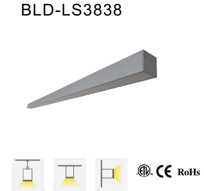 LED Interior Linear Lights Ceiling Mount Lamps Wall Washer