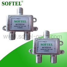 CATV cable tap/8 way cable tv tap/indoor cable splitter taps