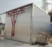 wood dryer chamber with automatic control system for timber wood drying equipment
