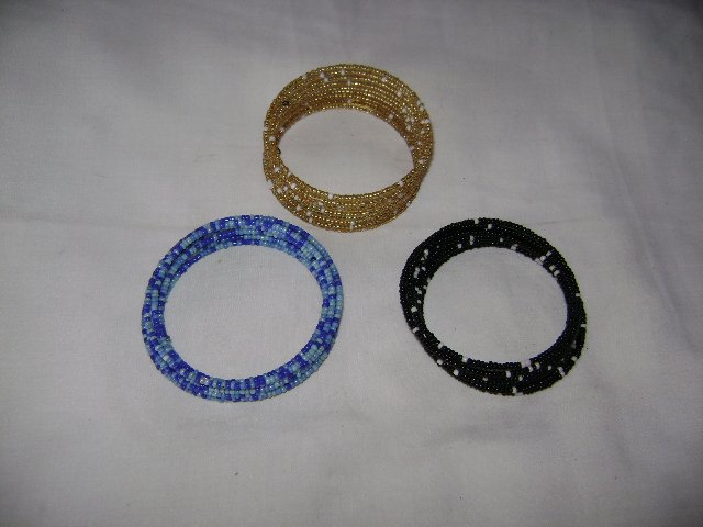 Beaded coloured Bracelet