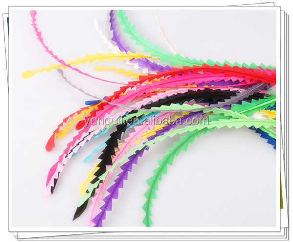 Free shipping 10 colors 25-30cm Loose coque rooster tail feather long shaped feather for DIY fascinator hair accessories F07