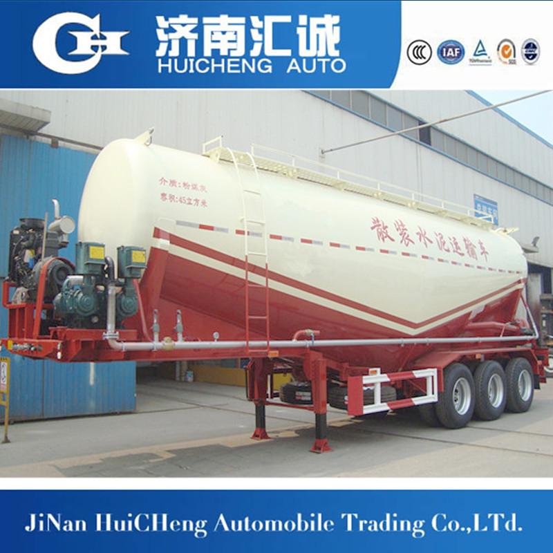 40tons bulk wheat flour transportation,bulk cement tank semi trailer