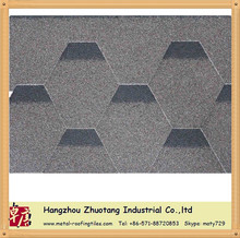 direct roofing shingle factory/Mosaic Asphalt shingle -brown color
