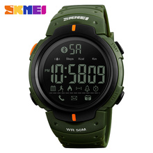 Skmei Wholesale 1301 New Technology 2018 Waterproof <strong>Smart</strong> Clocks Measure Pedometer <strong>Watch</strong>
