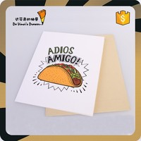 Adios Amigo Design Greeting Card